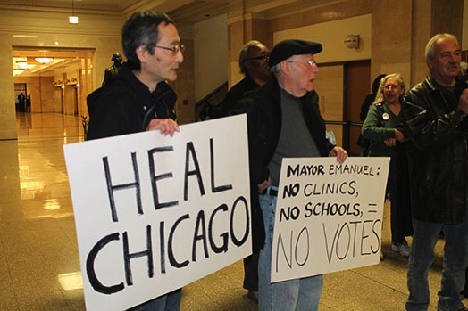 Mental Health Movement calls for Mayor Emanuel to 'heal Chicago'